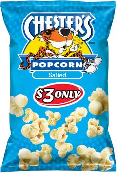 chester's® salted popcorn