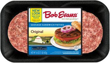 Bob Evans® Sausage Sandwich Patties 6 ct Tray