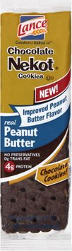 Lance® Chocolate Nekot® Real Peanut Butter Cookies