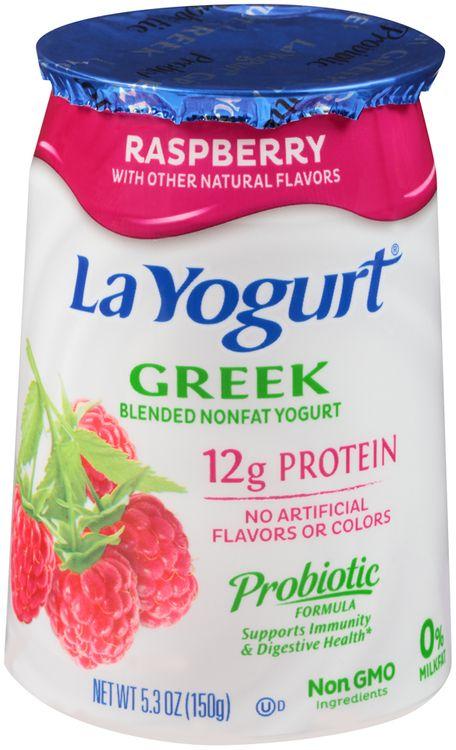 La Yogurt® Strawberry Greek Blended Nonfat Yogurt