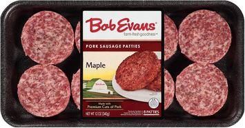 Bob Evans® Pork Sausage Patties Maple 8 ct