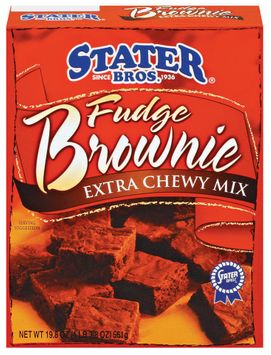 Stater bros Extra Chewy Mix Fudge Brownie Mix