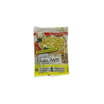 Pastariso B23050 Pastariso All Natural Brown Rice Elbows -12x8oz