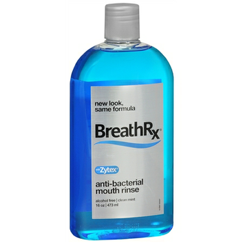 Breath Rx Anti-Bacterial Mouth Rinse Clean Mint