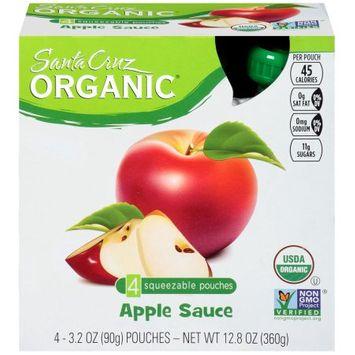 Santa Cruz Organic Apple Sauce, 3.2 OZ (Pack of 6)
