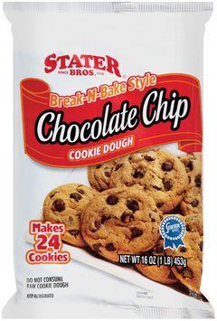Stater Bros.® Brake-N-Bake Chocolate Chip Cookie Dough 24 Ct