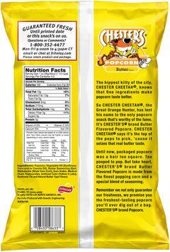 chester's® butter popcorn $2 prepriced
