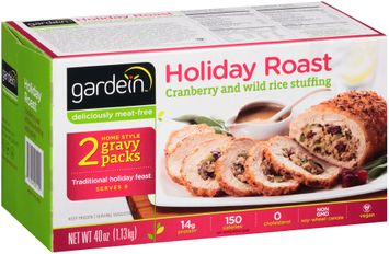 gardein™ Holiday Roast with Cranberry and Wile Rice Stuffing