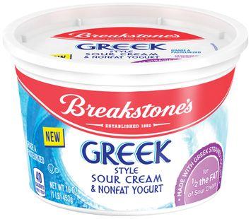 Breakstone's Greek Style Sour Cream & Nonfat Yogurt