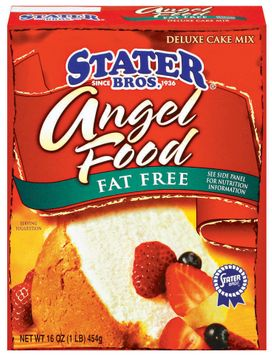 Stater bros Angel Food - Fat Free Deluxe Cake Mix