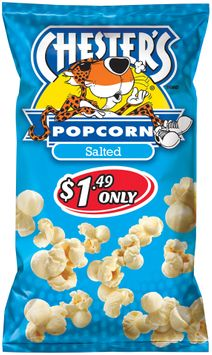 chester's® $149 only salted popcorn