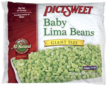PICTSWEET All Natural Baby Lima Giant Size Beans