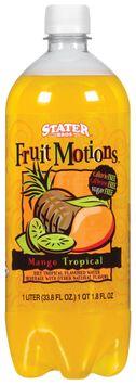 Stater Bros. Diet Fruit Motions Mango Tropical Water Beverage 1 L Plastic Bottle