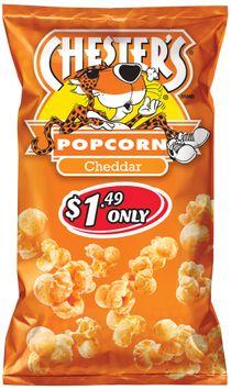 chester's® cheddar popcorn