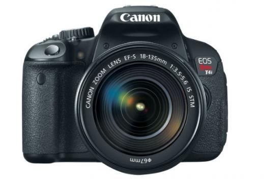 Canon  EOS Rebel T4i Camera