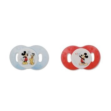 The First Years 2 Pack Mickey Mouse Infant Pacifier (Discontinued by Manufacturer)