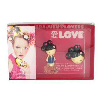 Gwen Stefani Harajuku Lovers Love Women Gift Set (Eau De Toilette Spray