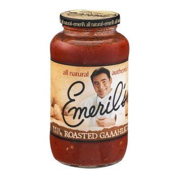 Emeril's Pasta Sauce, Roasted Gaaahlic, 25 OZ (Pack of 6)