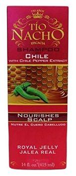 Tio Nacho Red Pepper Extract Shampoo with Royal Jelly Ginseng Aloe Vera Wheat Jojoba