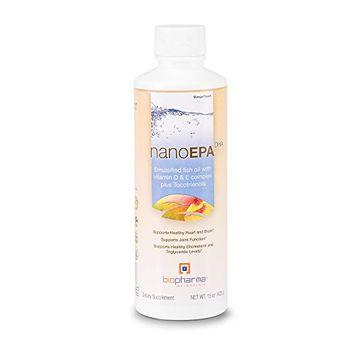 BioPharma Scientific As-BP0019 Biopharma Scientific Nanoepa-Dha Fish Oil with Vitamin D & E Complex