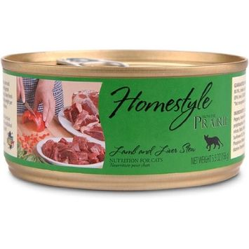 Homestyle, Lamb and Liver Stew, 5.5 oz Can Cat Food