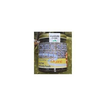 Living Tree Community Foods Alive, Organic Chia Seed Butter - 8oz