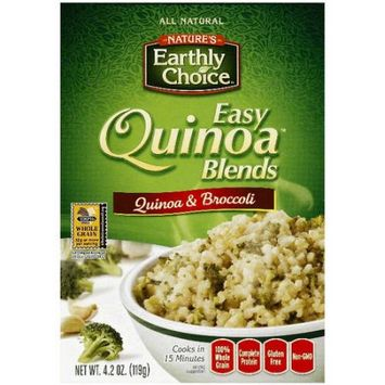 Natures Earthly Choice Nature's Earthy Choice Easy Quinoa Blends Quinoa & Broccoli, 4.2 oz, (Pack of 6)