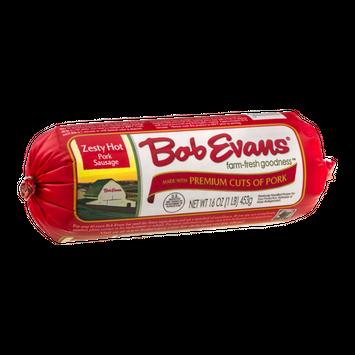 Bob Evans Zesty Hot Pork Sausage