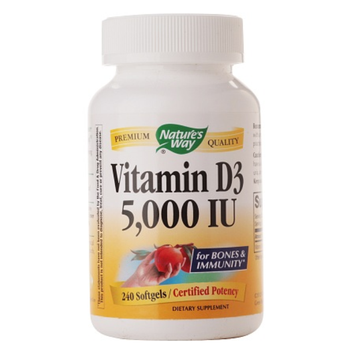 Nature's Way Vitamin D3 5