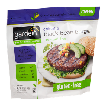Gardein Chipotle Black Bean Meat-Free Burger