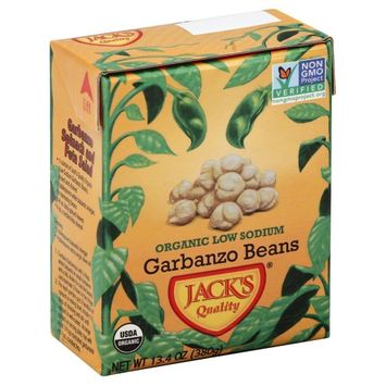Jack's Jacks 2396 Quality Organic Ls Garbanzo Beans Case Of 16