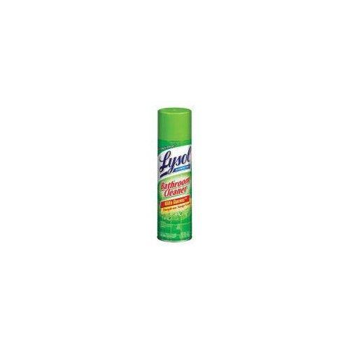 Lysol Bathroom Cleaner Complete Clean Aerosol Sunshine Fresh 24 oz. (Pack of 12)
