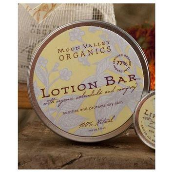 Moon Valley Organics Lotion Bar Natural By Moon Valley