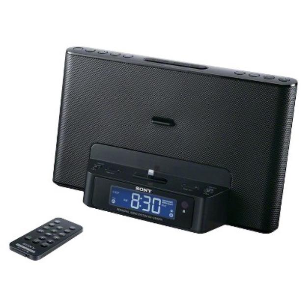 Sony Speaker Dock for iPod/iPhone - Black (ICFCS15IPBLKN)