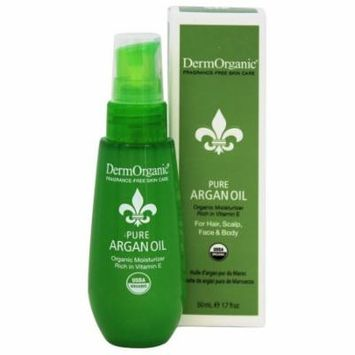 DermOrganic - 100% Pure Argan Oil - 1.7 oz.