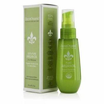 DermOrganic 100% Pure Organic Argan Oil, 1.7 Fluid Ounce
