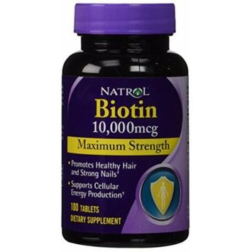 Biotin (10,000mcg) Maximum Strength (3 pck)