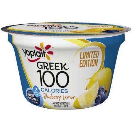 Yoplait® Greek 100 Calories Blueberry Lemon Fat Free Yogurt