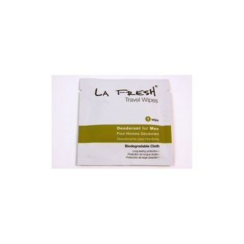 LA Fresh Deodorant for Men Towelette (case of 200)