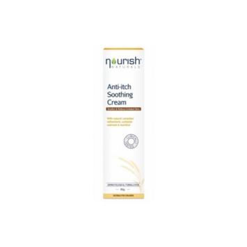 Natralia 1521632 Anti Itch Soothing Cream Oatmeal and Menthol 3 oz.