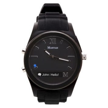 Martian Notifier Smart Watch - Black (MN200BBB)