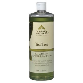 Clearly Natural Pure and Natural Glycerine Hand Soap Tea Tree 32 fl oz