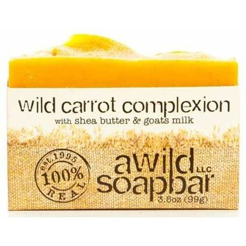 A Wild Soap Bar Wild Carrot Organic Complexion Bar Soap