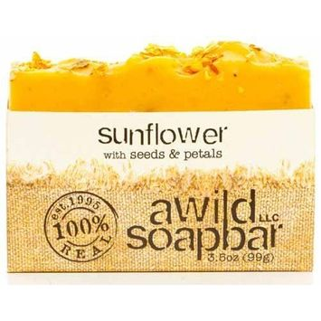 A Wild Soap Bar Sunflower Soap