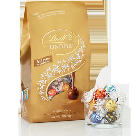 Lindt Ultimate 8-flavor Assortment Lindor Truffles
