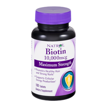 Natrol Biotin 10,000mcg Tablets - 100 CT