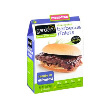 Gardein Barbecue Riblets Slow Cooked - 2 CT