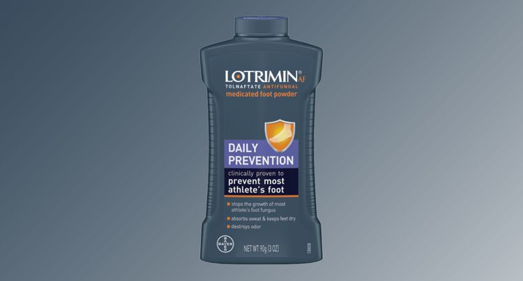 Stop Odor, Sweat, and Athlete's Foot in Its Tracks With This Foot Powder from Lotrimin!
