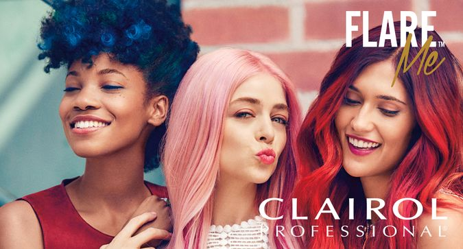 <p>Ready for a challenge? A #BoldHairChallenge! We've teamed up with Clairol Professional to bring you 7 new vivid at-home hair shades to brighten up your fall! New Clairol Professional FLARE <em>Me</em> color is for the every day artist and Influensters everywhere are testing it out <em>right now</em>!</p> <p>What we love about this product is how it can be customized to fit your own personal style. From vivid and bold to subtle and soft, whatever look you want to achieve is possible and easy! And talk about lasting results! These shades last up to 5 weeks and never come off on your pillow.</p> <p>Want the deetson this awesome line that Influensters are testing out? Scroll through the slideshow to see all the FLARE <em>Me</em>colors and the products needed to help it last and last.</p> <p><strong>Be sure tolet us know which shade you would most want to try in the comments and search the hashtag #BoldHairChallengeon Instagram to see some rockstar pics!</strong></p>