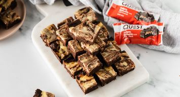 Recipe: Mini Cheesecake Brownies